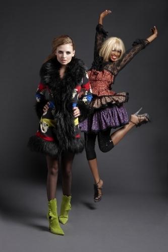 America's suivant haut, retour au début Model Cycle 15 Iconic Fashion Designers Photoshoot