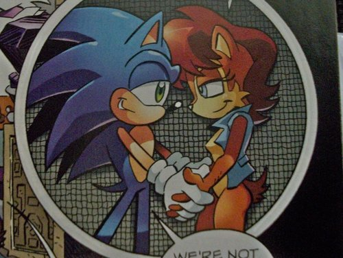 Another Sonic And Sally Moment