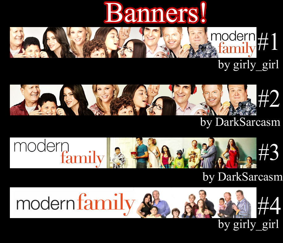 Banners! - Modern Fami...