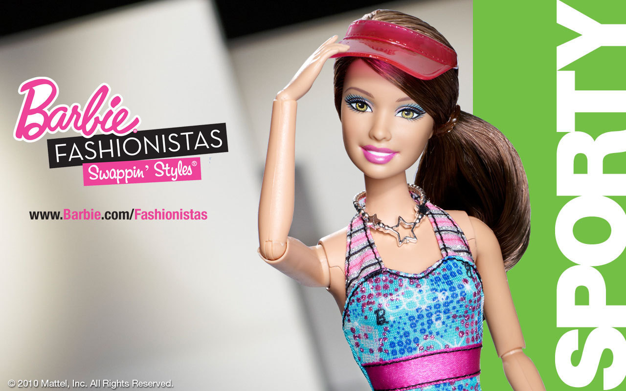 Barbie fashionistas swappin styles doll sassy 95