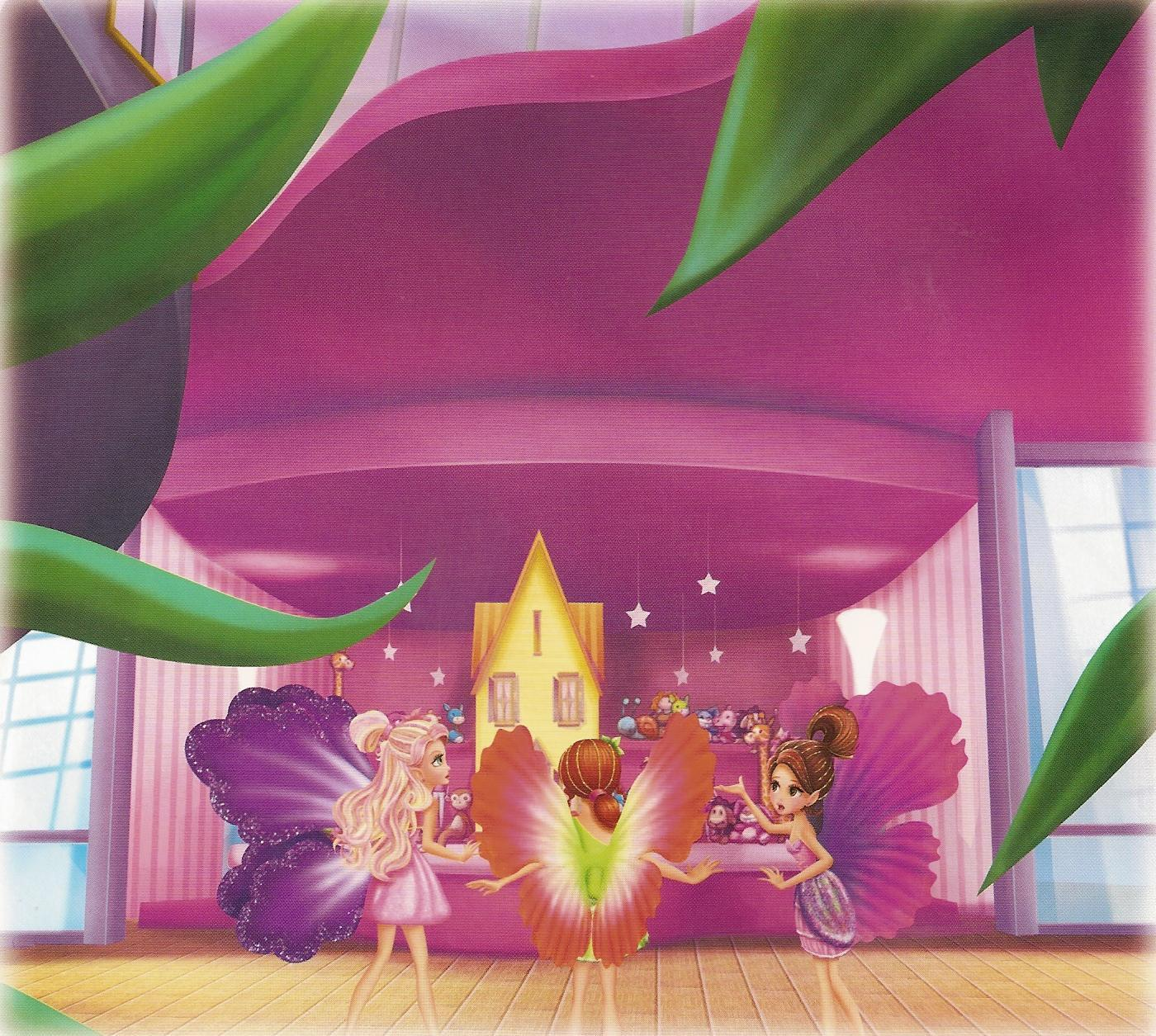 Barbie Thumbelina Movie