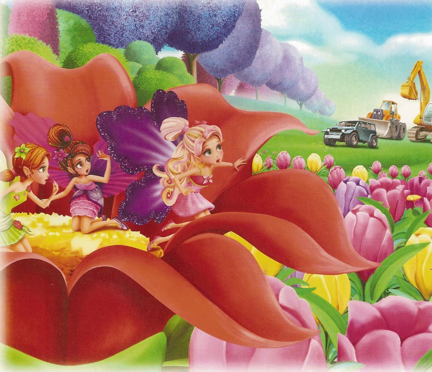 Barbie Thumbelina Wallpaper