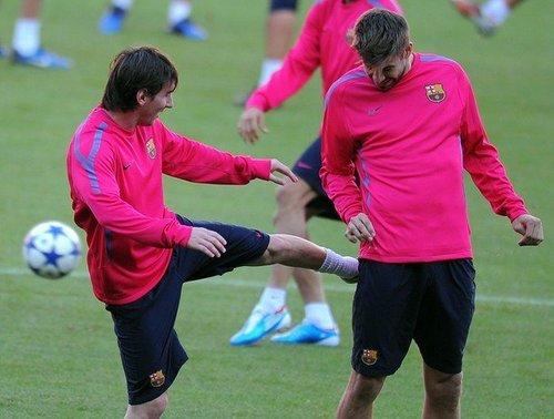 Barca (training 19/10/2010)