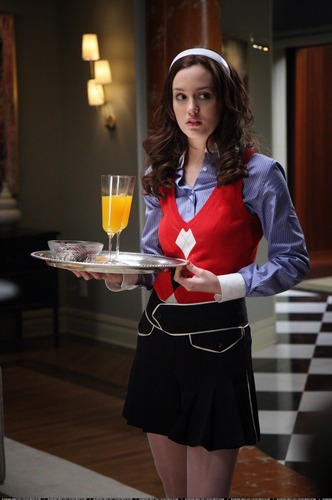 Blair Waldorf wallpaper possibly containing a dinner table entitled Blair