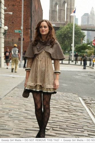 Blair Waldorf wallpaper with a fur coat and a mink titled Blair