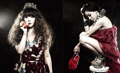 Brown eyed girls become dark fairy tale characters