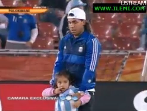 Carlitos and daughter Florencia
