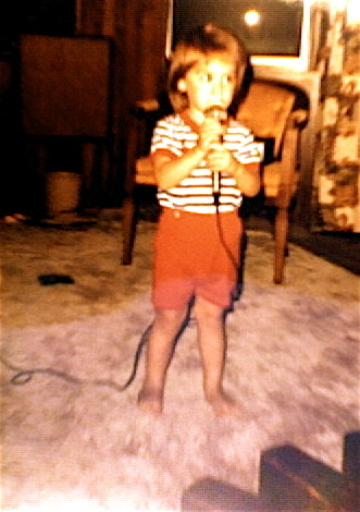 Christina Perri as a young child.