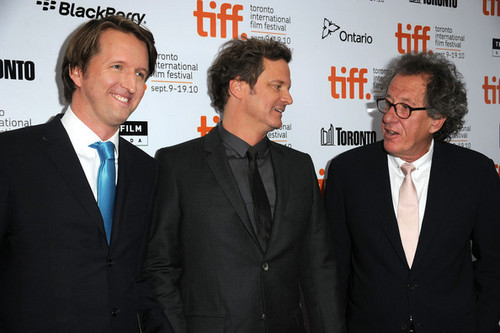 Colin Firth at The King's Speech Premiere at Toronto International Film Festival