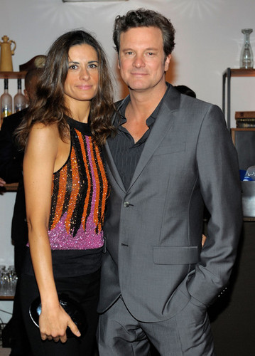 Colin Firth's 50th Birthday Party at Grey gans Soho House Club