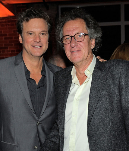 Colin Firth's 50th Birthday Party at Grey oca Soho House Club