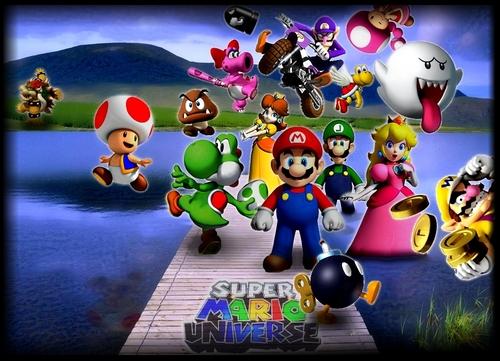 Colour - New Mario World Poster