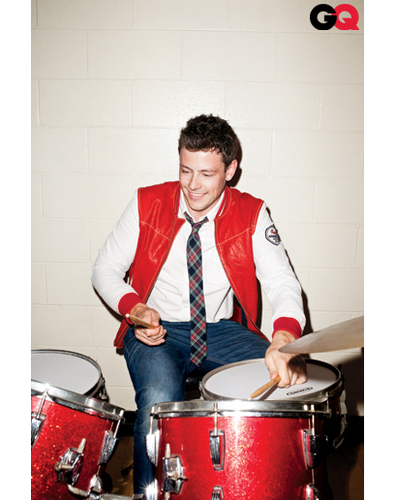 Cory Monteith - GQ Magazine - glee Photo
