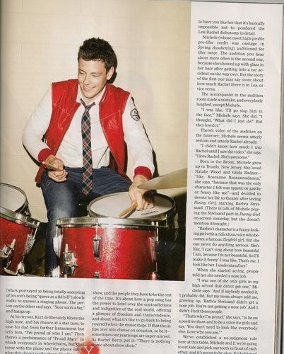 Cory Monteith - GQ Magazine