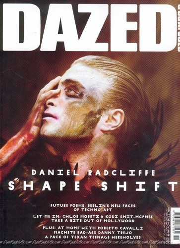 Daniel Radcliffe on Dazed and Confused