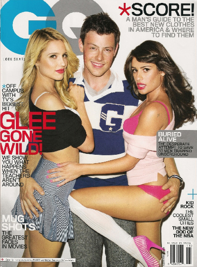 Dianna, Lea , and Cory - GQ Magazine