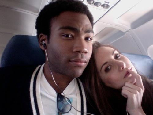 Donald Glover and Alison Brie