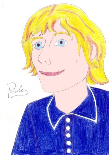 Drawing of Julian Rhind Tutt