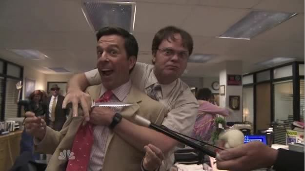 Dwight and Andy XD