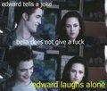 Edward jokes