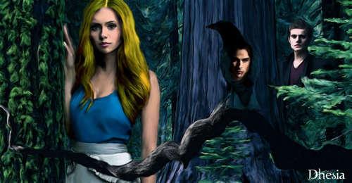 Elena, Damon, Stefan