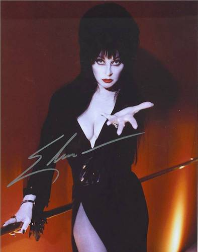 Elvira Autograph