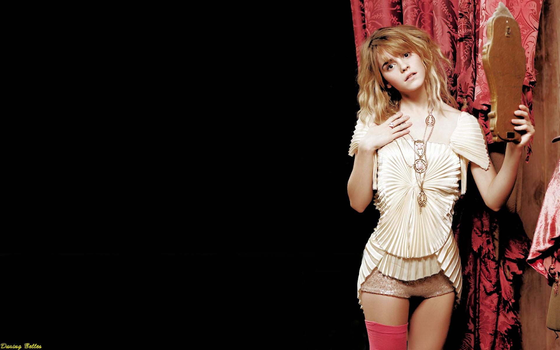 Emma Watson Daring Belle!
