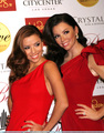 Eva with Her Wax Figure - eva-longoria photo