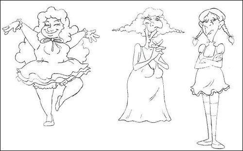 Bertha, Widow & Ertha