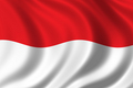 Flag - indonesia photo