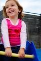Gemma giggling