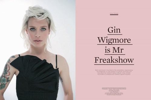 জিন Wigmore in Pilot Magazine