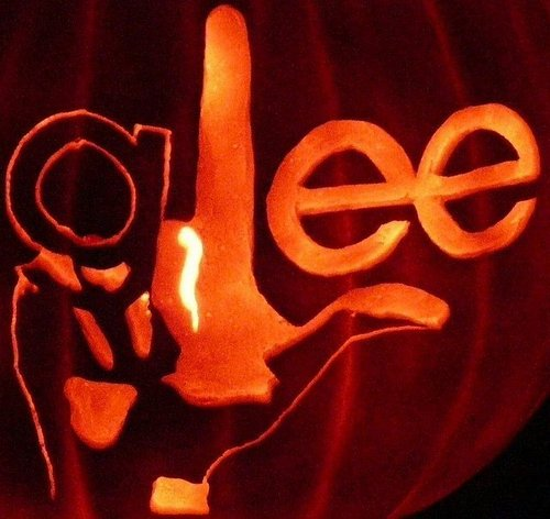 Glee wallpaper probably with a jack o' lantern called Glee Baby
