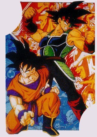 Гоку and Bardock-the perfect team!