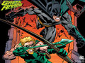 Green Arrow & Batman - green-arrow wallpaper