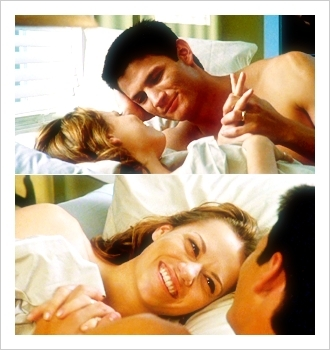 Haley James Scott wallpaper containing a neonate and skin called Haley & Nathan Picspam