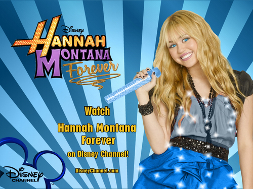 Hannah Montana Forever EXCLUSIVE দেওয়ালপত্র দ্বারা dj as a part of 100 days of Hannah!!!!!