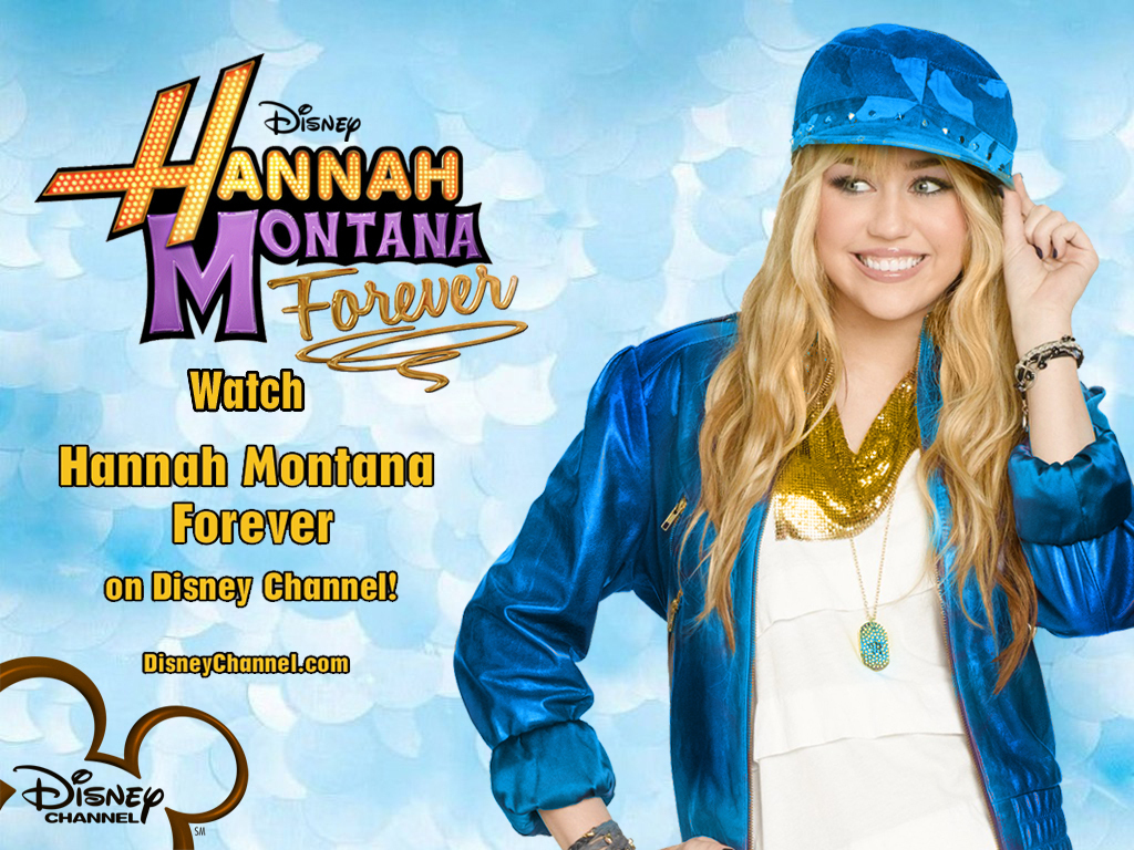 Hannah Montana season 4'ever EXCLUSIVE wallpapers as a part of 100 days of hannah by dj ...