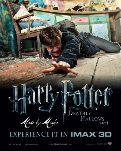 Harry Potter and the Deathly Hallows : Harry Potter Fanmade Poster