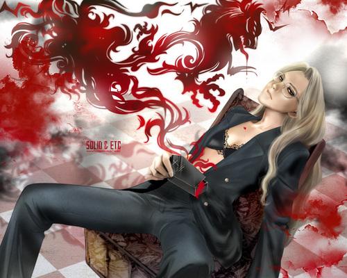 Hellsing 팬 Art