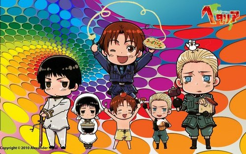 Hetalia- The Axis Powers ちび