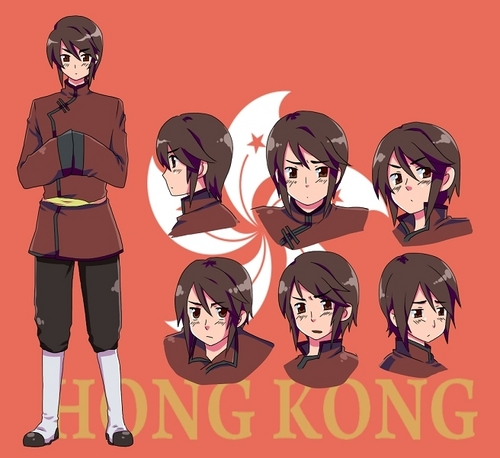 Hong Kong - hetalia Photo