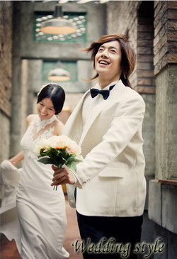 Hwang bo & Hyunjoong 100th hari wedding pictures