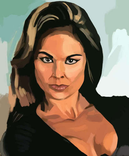 Wwe Former Diva Ivory achtergrond possibly containing a portrait entitled Ivy Ivory