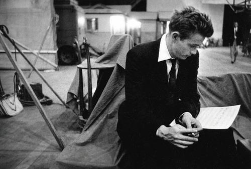 James Dean reading lines