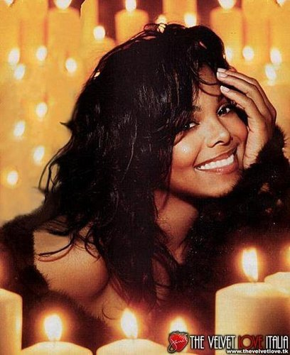 Janet Jackson wallpaper with a candle called Janet Jackson