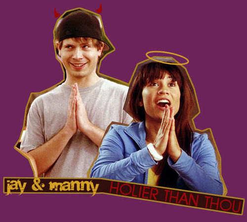 カケス, ジェイ and Manny