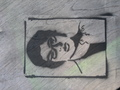 Jemaine Clement Stencil - flight-of-the-conchords photo