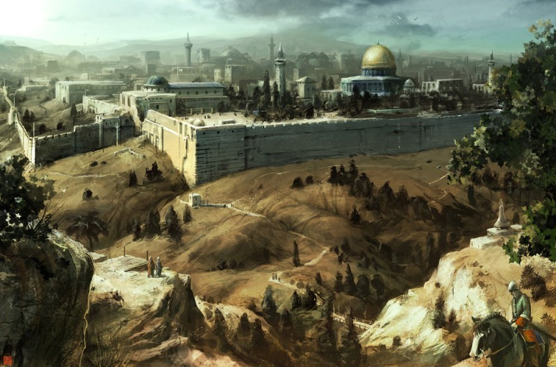 assassin s creed images jerusalem hd wallpaper and background photos
