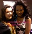Jessica jarrell with fan